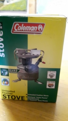 Coleman  Backpack stove