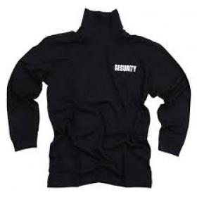T'shirt Security lange mouw